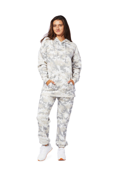 Niki & Cooper fleece set in white camo from Lazypants - always a great buy at a reasonable price.