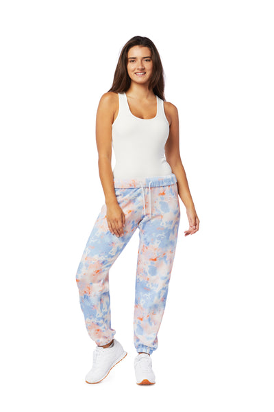 Niki Prints in blue creamsicle from Lazypants - always a great buy at a reasonable price.
