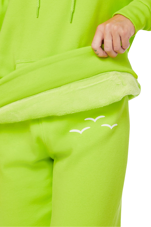 Niki & Cooper Ultra-Soft Set in Green Fluo from Lazypants - always a great buy at a reasonable price.