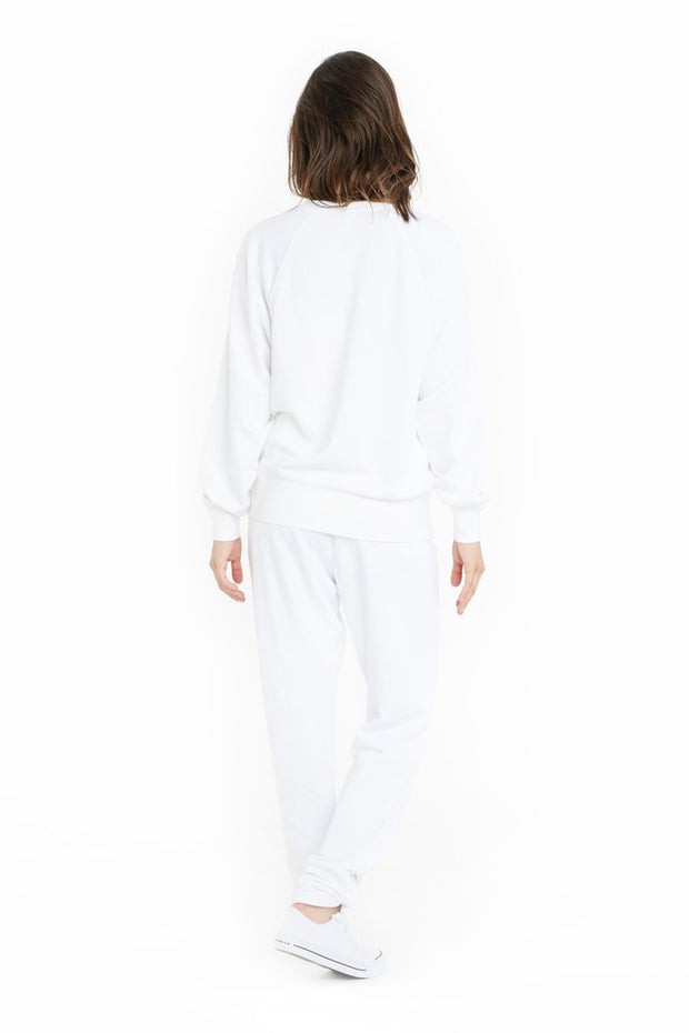 THE CASEY BOYFRIEND CREW IN WHITE-BOYFRIEND CREW-Lazypants