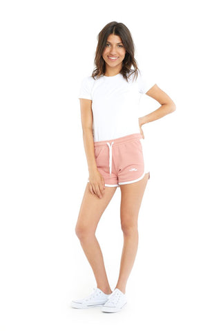 THE JACKIE RETRO SHORT IN BLUSH