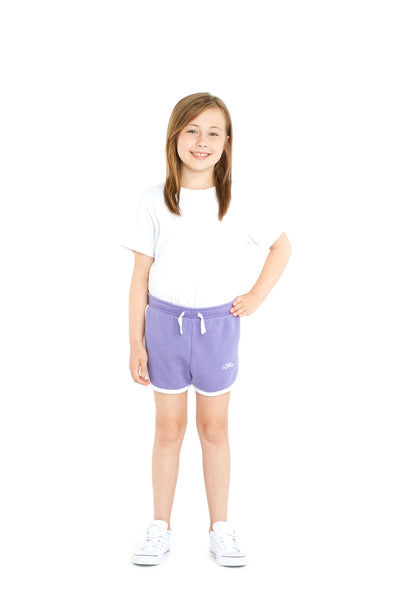 Jackie Kids Retro Short in Lavender from Lazypants - always a great buy at a reasonable price.