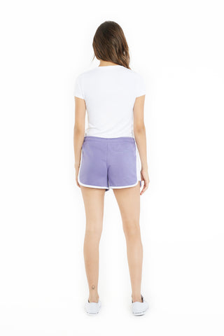 THE JACKIE RETRO SHORT IN LAVENDER