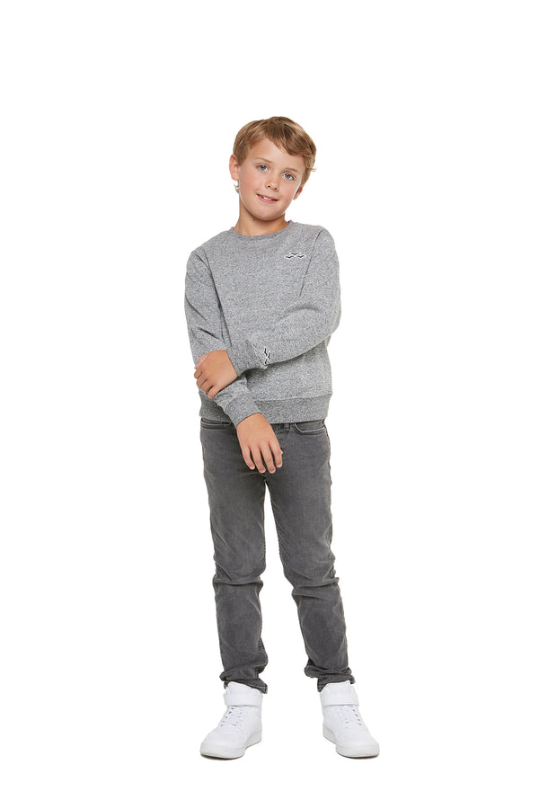 Casey Kids Boyfriend Crew in Granite from Lazypants - always a great buy at a reasonable price.