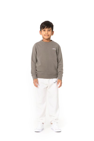 Casey Kids Boyfriend Crew in Khaki from Lazypants - always a great buy at a reasonable price.
