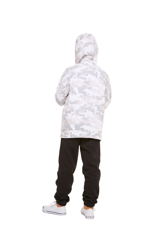 The Cooper Hoodie in White Camo from Lazypants - always a great buy at a reasonable price.