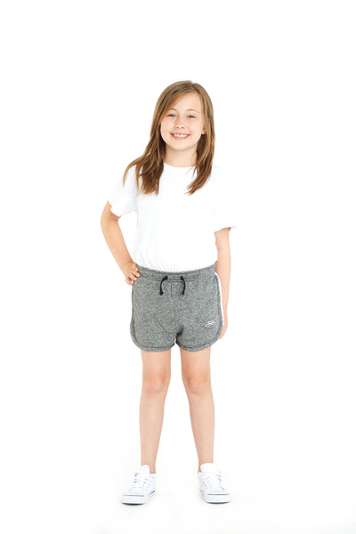 Jackie Kids Retro Short in Granite from Lazypants - always a great buy at a reasonable price.