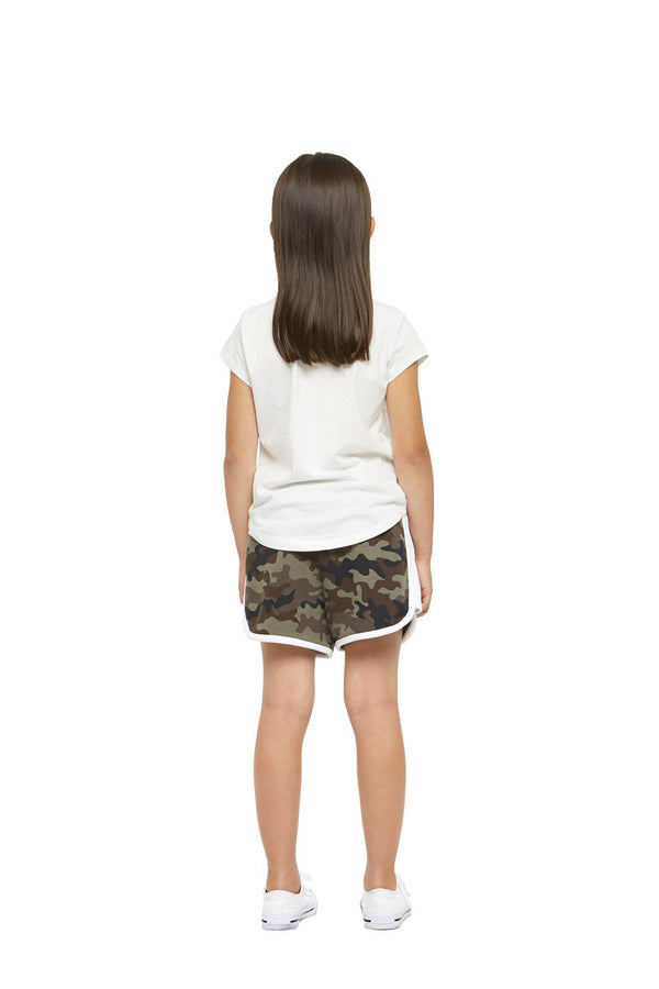 Jackie Kids Retro Short in Green Camo from Lazypants - always a great buy at a reasonable price.