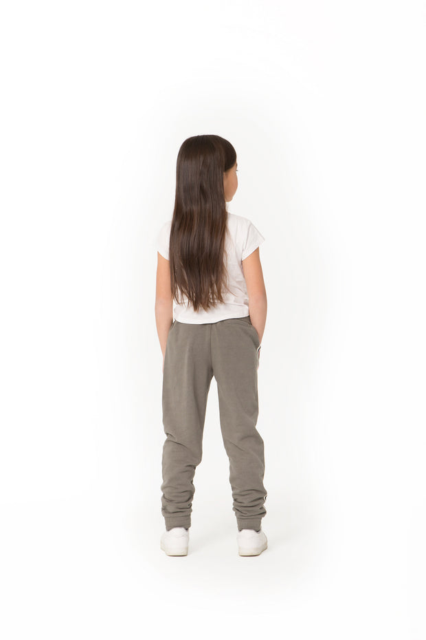 The Lucas Striped Jogger in Khaki from Lazypants - always a great buy at a reasonable price.