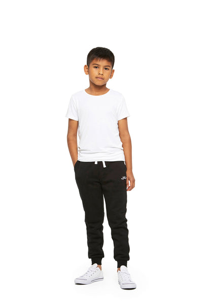 Charlie Kids Slim Jogger in Black from Lazypants - always a great buy at a reasonable price.