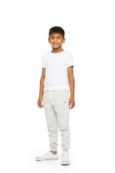 Charlie Kids Slim Jogger in Classic Grey from Lazypants - always a great buy at a reasonable price.