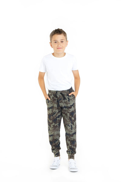 The Charlie Slim Jogger in Green Camo from Lazypants - always a great buy at a reasonable price.