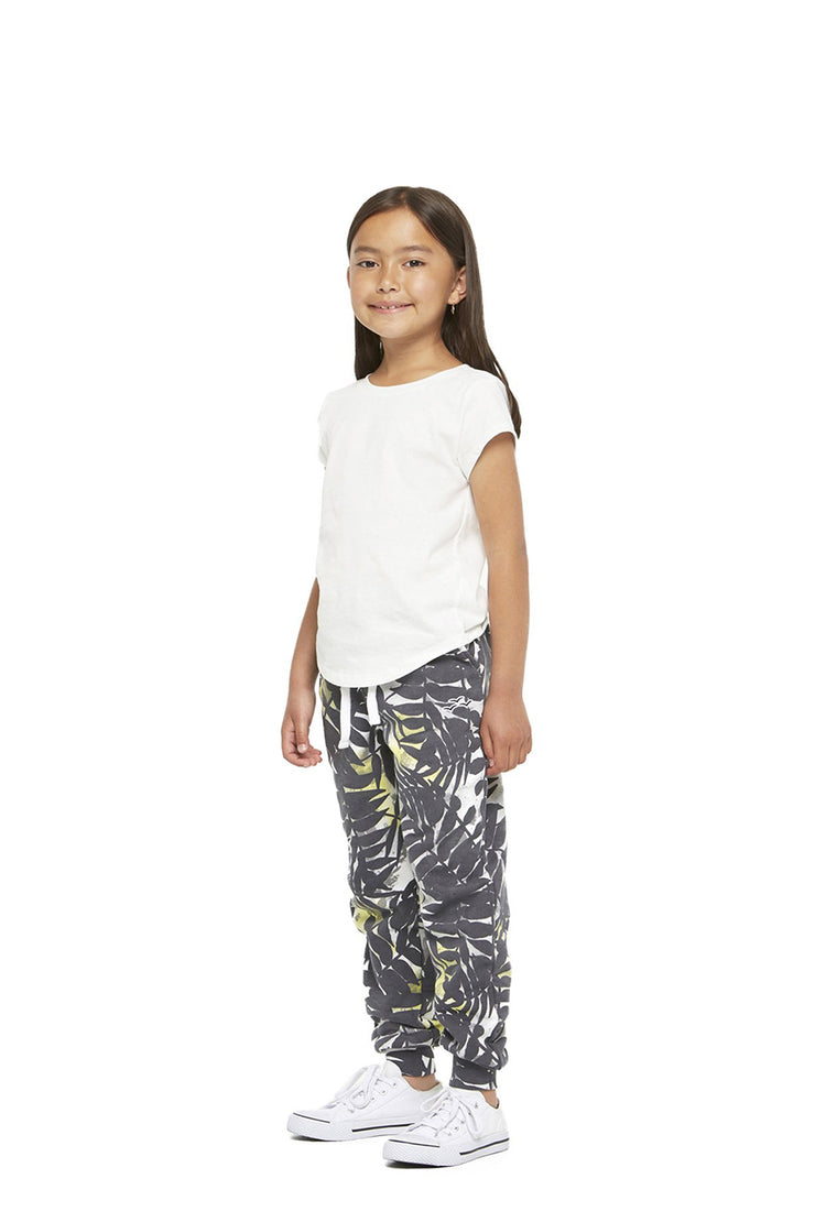 The Charlie Slim Jogger in Palm Print from Lazypants - always a great buy at a reasonable price.