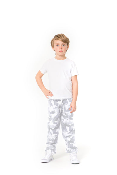 The Niki Original kids in White Camo from Lazypants - always a great buy at a reasonable price.