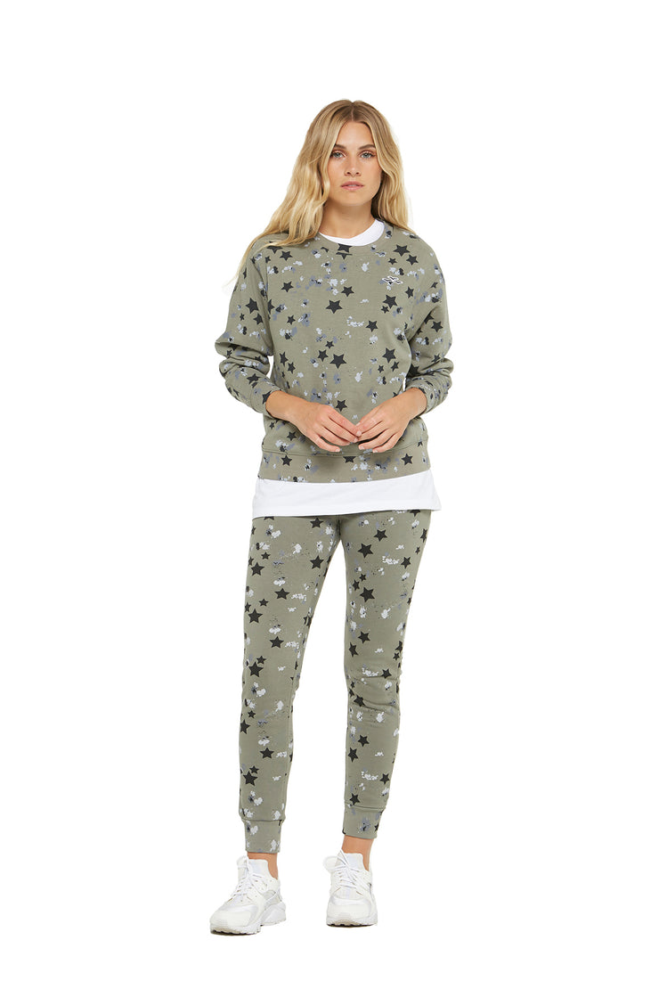 The Casey Boyfriend Crew in Splatter Stars from Lazypants - always a great buy at a reasonable price.