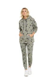 Cooper hoodie in splatter stars from Lazypants - always a great buy at a reasonable price.