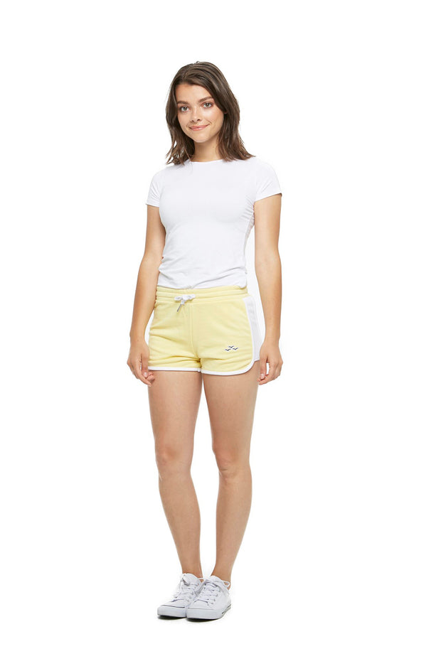 The Jackie Retro Short in Mellow Yellow from Lazypants - always a great buy at a reasonable price.