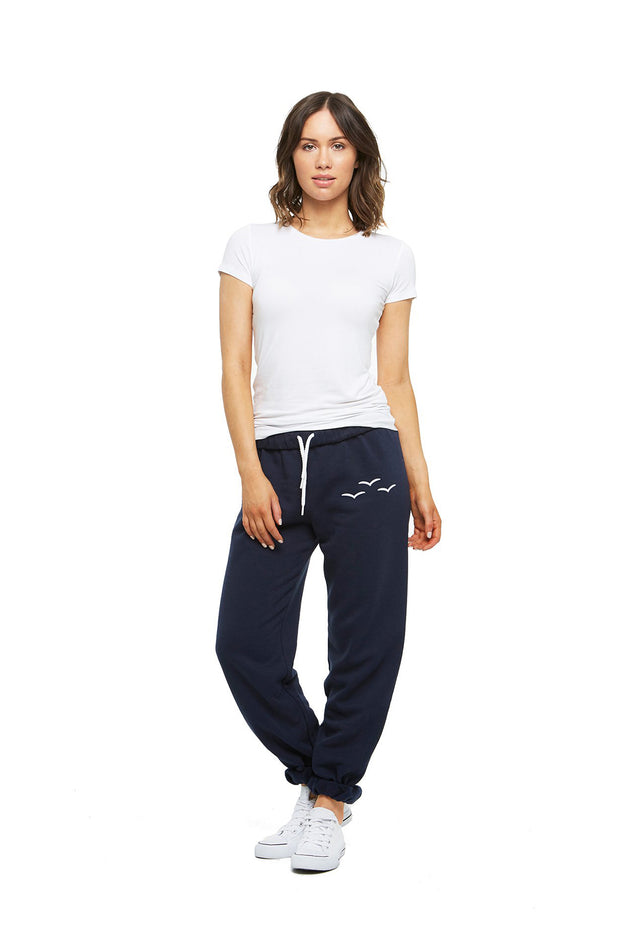 The Niki Original in Navy from Lazypants - always a great buy at a reasonable price.