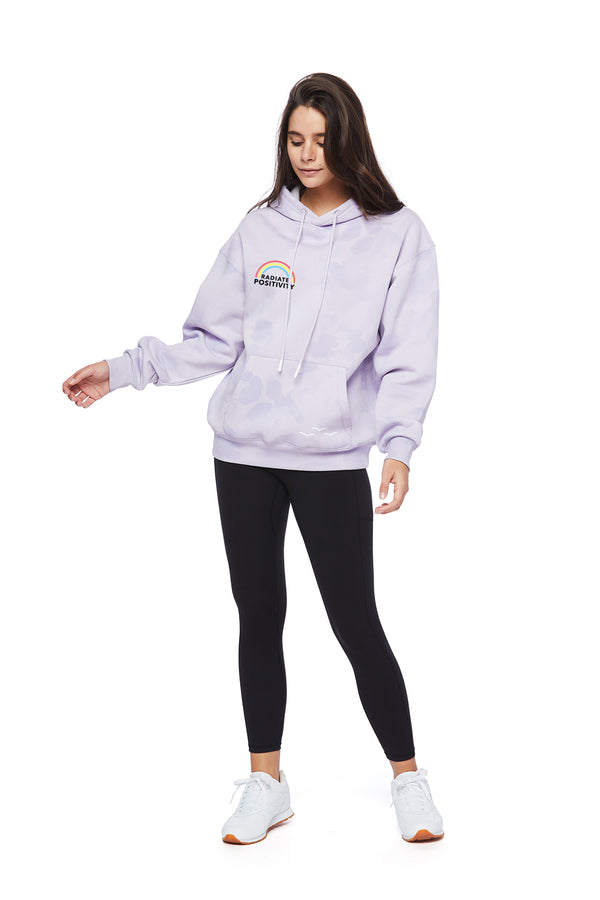 Chloe Earth Day Hoodie in Lavender Sponge from Lazypants - always a great buy at a reasonable price.
