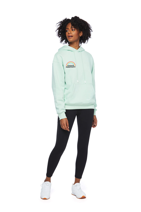 Chloe Earth Day Hoodie in Mint from Lazypants - always a great buy at a reasonable price.