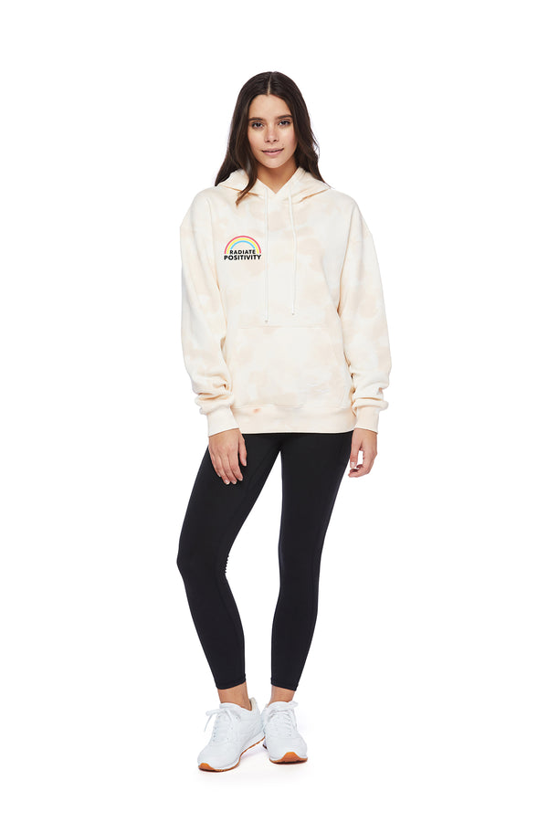 Chloe Earth Day Hoodie in Sand Sponge from Lazypants - always a great buy at a reasonable price.