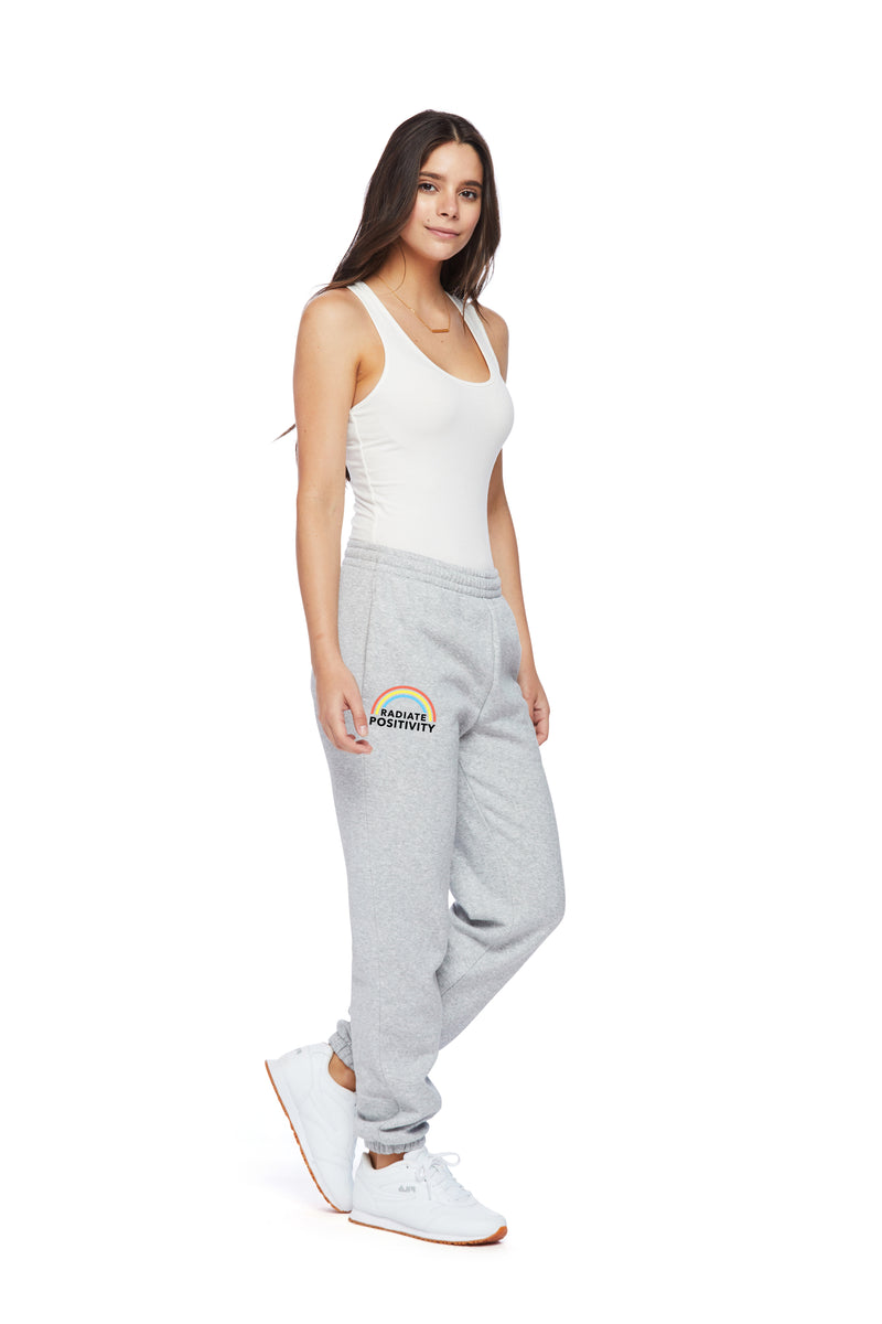 Nova Earth Day Boyfriend Jogger in Classic Grey from Lazypants - always a great buy at a reasonable price.