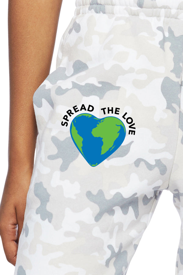 Nova Earth Day Boyfriend Jogger in White Camo from Lazypants - always a great buy at a reasonable price.
