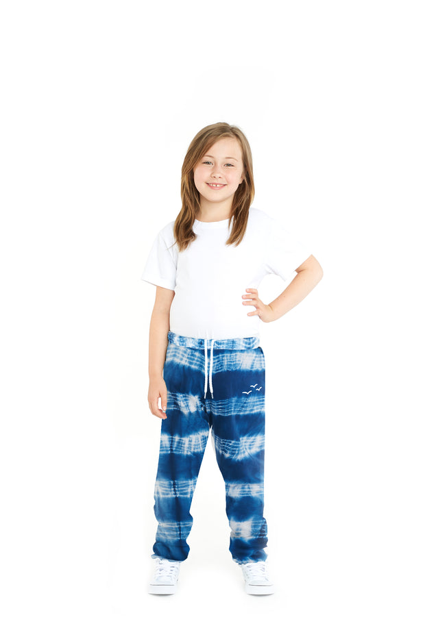 The Niki tie dye in indigo blue from Lazypants - always a great buy at a reasonable price.