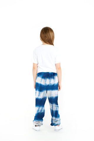 THE NIKI TIE DYE IN INDIGO BLUE