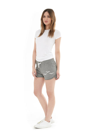 THE OLIVIA SHORTIE SHORT IN CLASSIC GREY