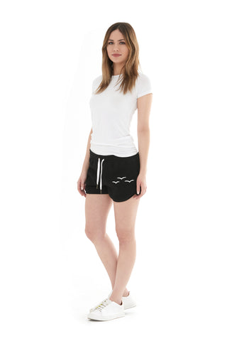 THE OLIVIA SHORTIE SHORT IN BLACK
