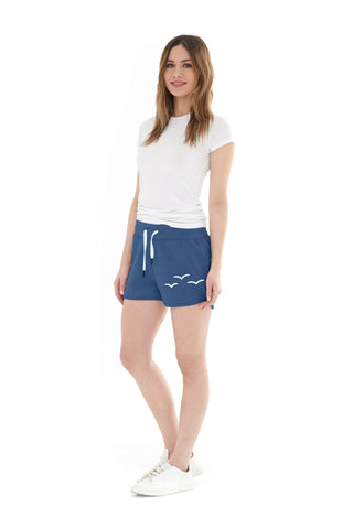 THE OLIVIA SHORTIE SHORT IN DEEP BLUE