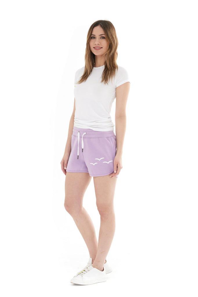 THE OLIVIA SHORTIE SHORT IN ORCHID