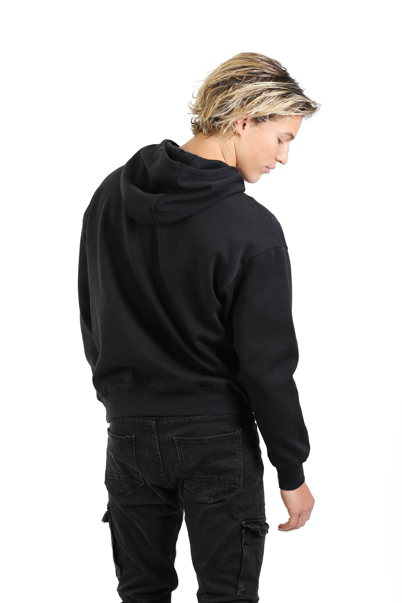 Men's hoodie in Black from Lazypants - always a great buy at a reasonable price.