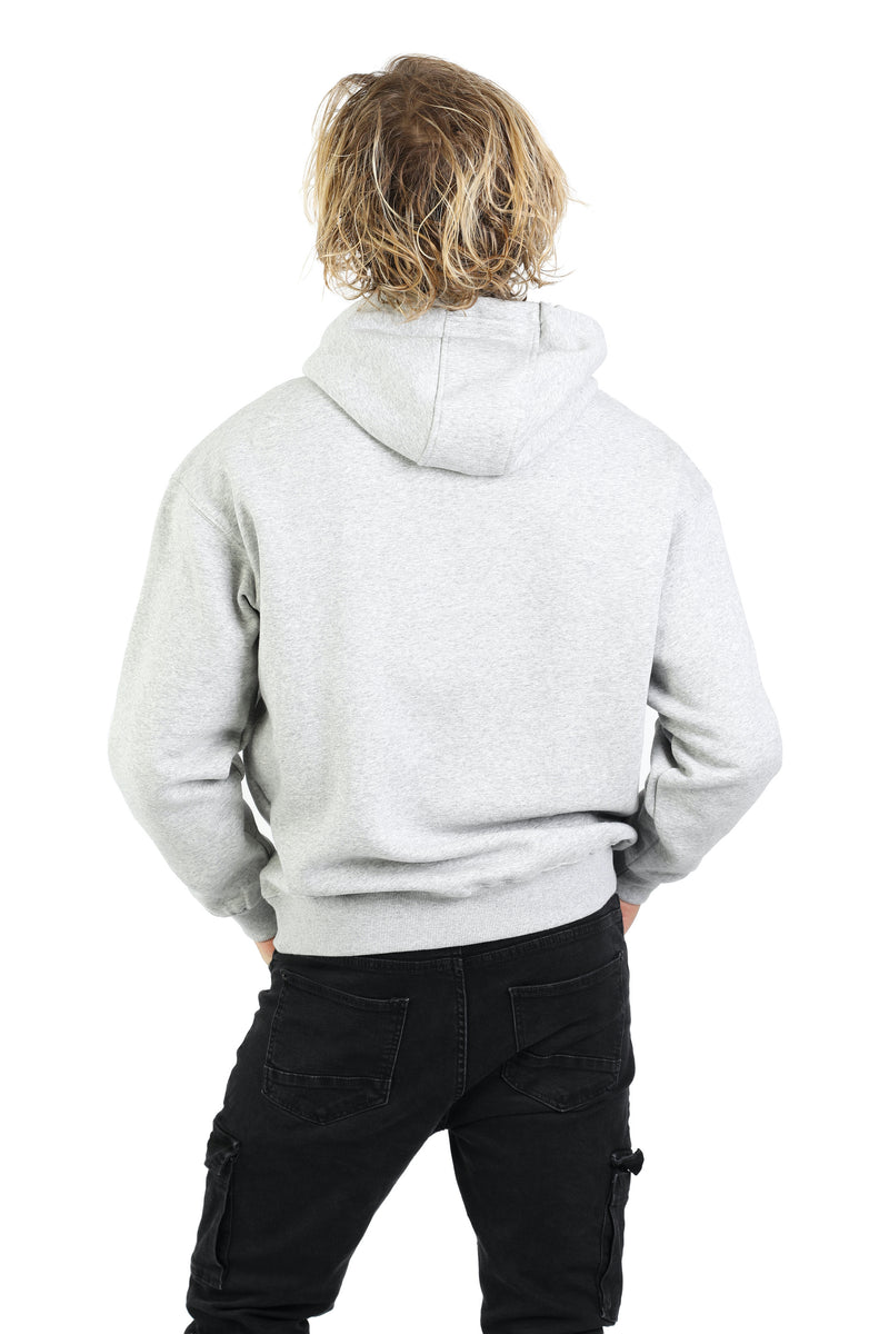 Men's hoodie in Classic grey from Lazypants - always a great buy at a reasonable price.