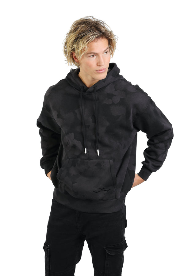 Men's hoodie in black sponge from Lazypants - always a great buy at a reasonable price.