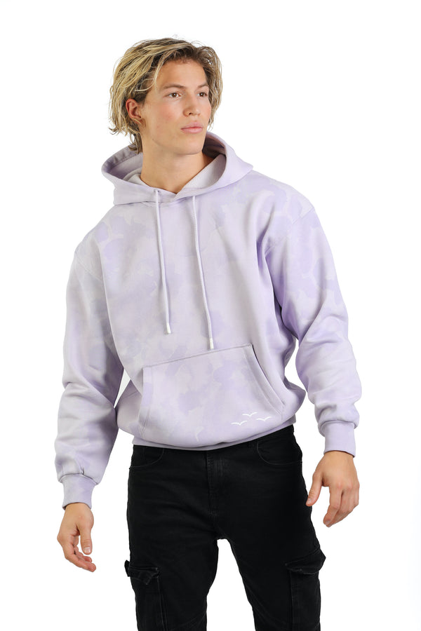 Men's hoodie in Lavender sponge from Lazypants - always a great buy at a reasonable price.