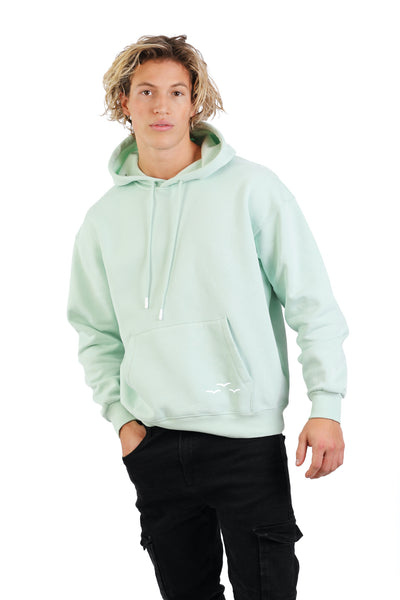 Men's hoodie in mint from Lazypants - always a great buy at a reasonable price.