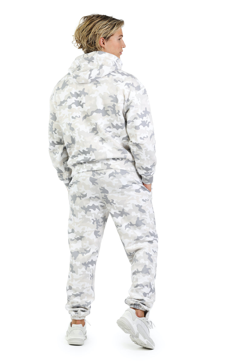 Men's set in white camo from Lazypants - always a great buy at a reasonable price.