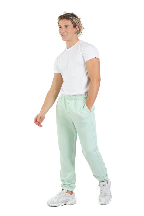 Men's jogger in Mint from Lazypants - always a great buy at a reasonable price.