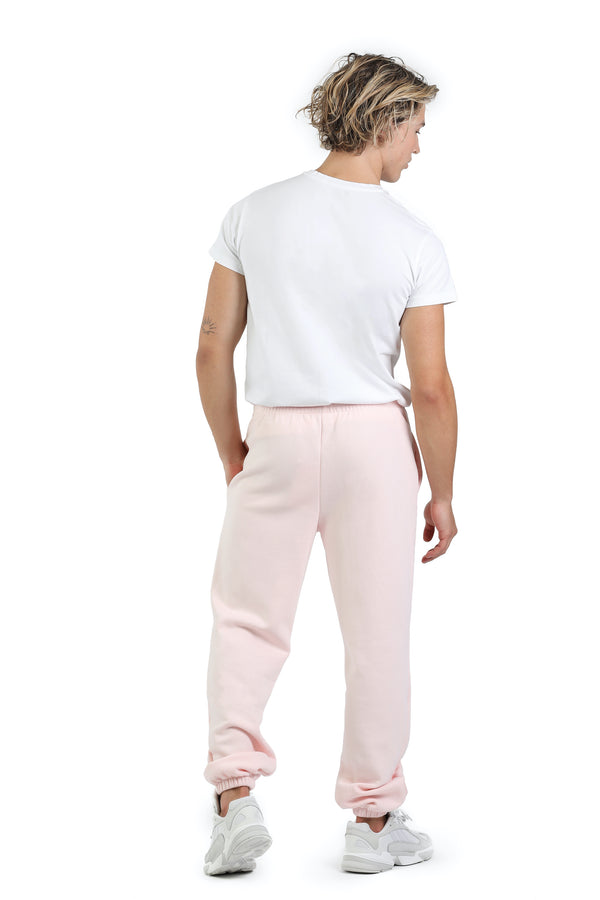 Men's Jogger in Petal pink from Lazypants - always a great buy at a reasonable price.