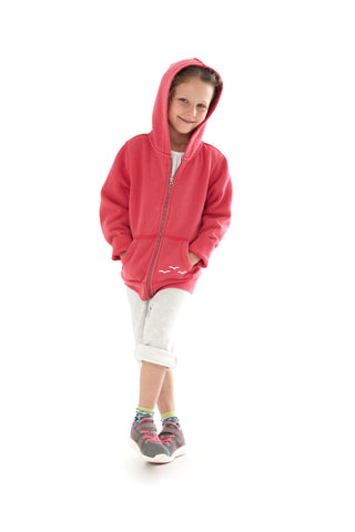 THE ADDISON HOODIE IN POP PINK