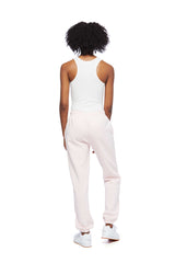 Nova Boyfriend Jogger in Petal Pink from Lazypants - always a great buy at a reasonable price.