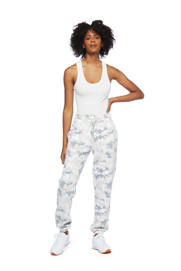 Nova Boyfriend Jogger in White Camo from Lazypants - always a great buy at a reasonable price.