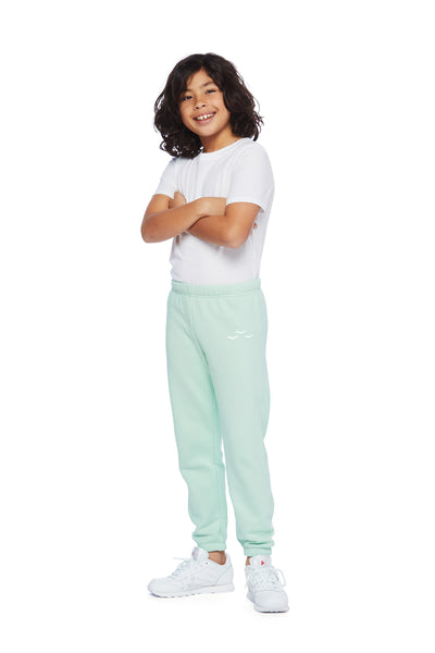 Niki Original kids sweatpants in mint from Lazypants - always a great buy at a reasonable price.