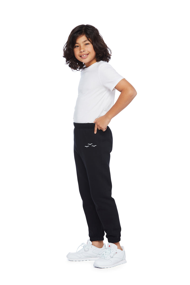 Niki Original kids sweatpants in Black from Lazypants - always a great buy at a reasonable price.