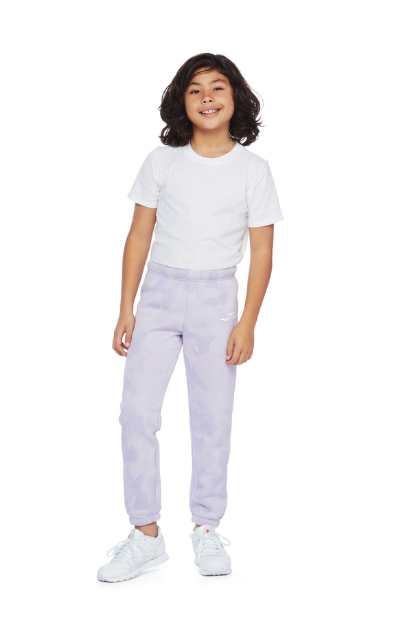 Niki Original kids sweatpants in lavender sponge from Lazypants - always a great buy at a reasonable price.