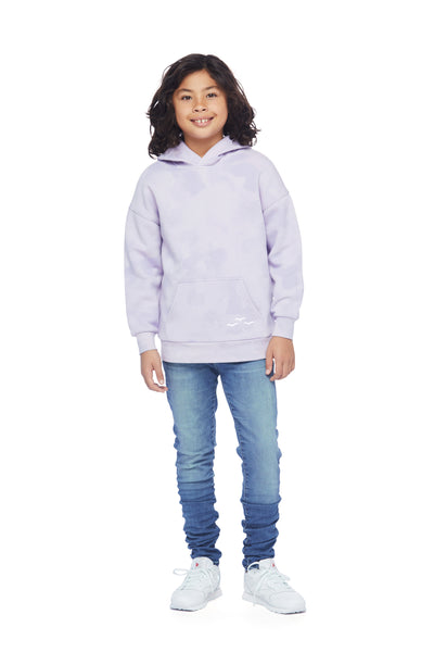 Kids Cooper Hoodie in Lavender sponge from Lazypants - always a great buy at a reasonable price.
