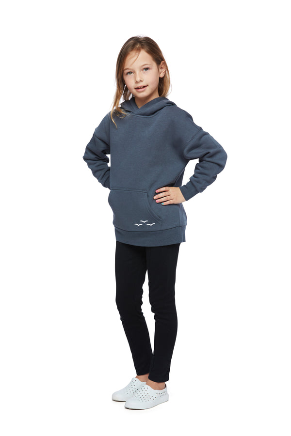 Kids Cooper Hoodie in navy wash from Lazypants - always a great buy at a reasonable price.