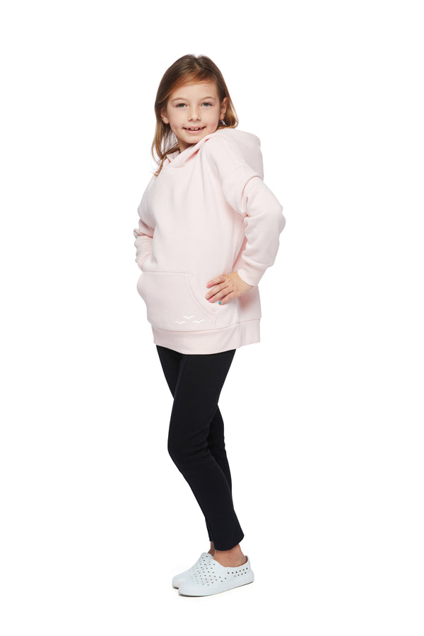 Kids Cooper hoodie in petal pink from Lazypants - always a great buy at a reasonable price.
